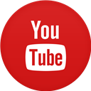 Circle, Flat, Youtube Icon