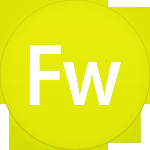 Circle, Fireworks, Flat Icon