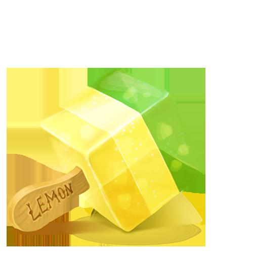 Cream, Ice, Lemon Icon