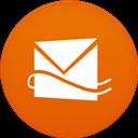 Circle, Flat, Hotmail Icon