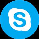 Round, Skype Icon