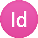 Circle, Flat, Indesign Icon