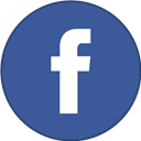 Border, Facebook, Round, With Icon