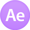 After, Circle, Effects, Flat Icon