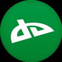 Circle, Deviantart, Flat Icon