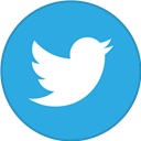 Border, Round, Twitter, With Icon