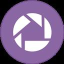 Border, Picasa, Round, With Icon