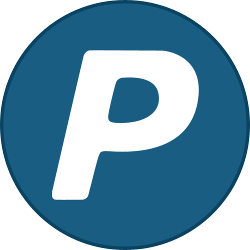 Border, Paypal, Round, With Icon
