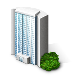 Building, Company, Office Icon