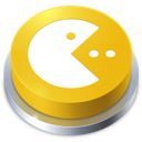 Button, Games, Pacman Icon
