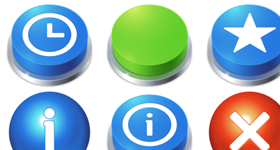 I Like Buttons Icons