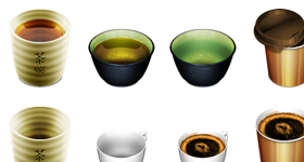 Kappu Cups Icons