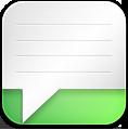 Alt, Green, Message Icon