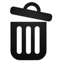 Open, Recyclebin Icon