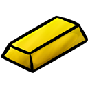 Gold, Ingot Icon