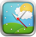 Clock, Weather Icon