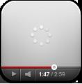 Gray, Youtube Icon