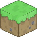 3d, Grass, Minecraft Icon