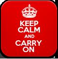 Calm, Keep Icon