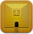 Gold, Templerun Icon