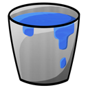 Bucket, Water Icon