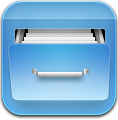 Blue, Filecab Icon