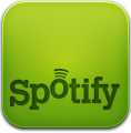 Spotify, Text Icon