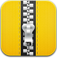 Yellow, Zip Icon