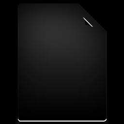 Document, File, Full Icon