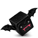 Bat, Cube Icon