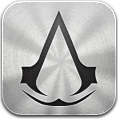 Assassins, Creed, Silver Icon