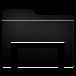 Folder, Stack Icon