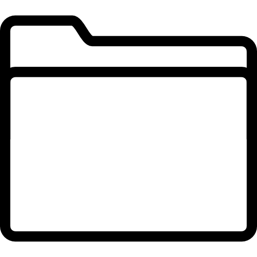 Folder, Vector Icon
