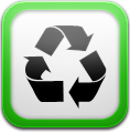 Cache, Cleaner, White Icon