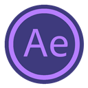 Adobe, Aftereffect Icon