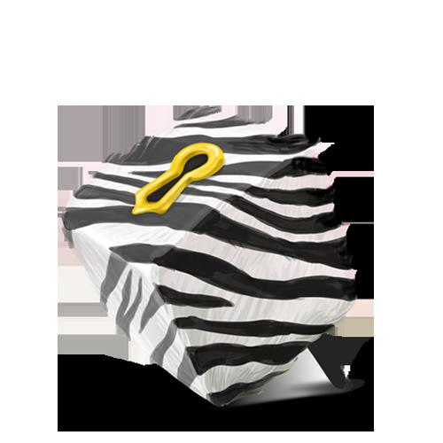 Box, Zebra Icon