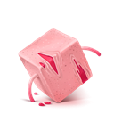 Cube, Red Icon