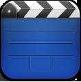 Blue, Videos Icon