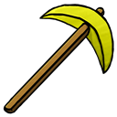 Gold, Pickaxe Icon