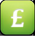 Pound, Sign Icon