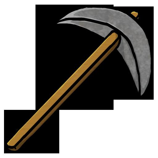 Pickaxe, Stone Icon