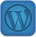 Blue, Wordpress Icon