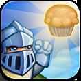 Knight, Muffin Icon
