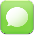 Green, Sms Icon