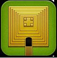 Green, Templerun Icon