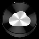Black, Drive, Icloud Icon