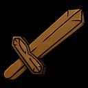 Sword, Wooden Icon