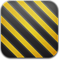 And, Black, Yellow Icon