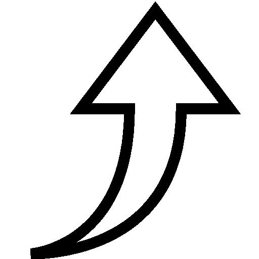 Arrow, Up, Vector Icon