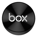 Black, Box, Drive Icon